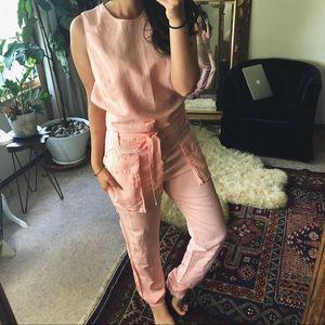 ZARA/ cotton jumpsuit